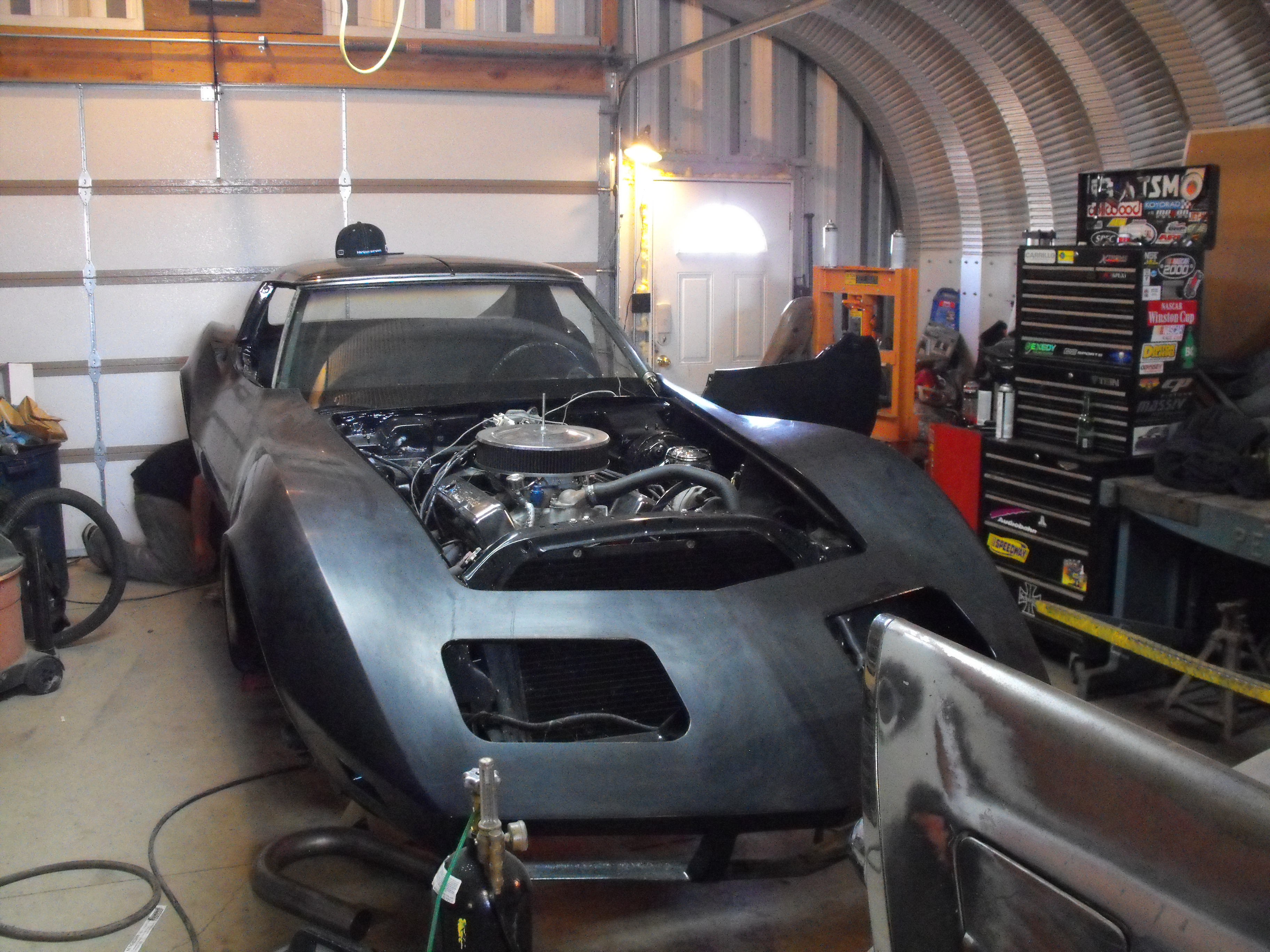 Dave's 1973 Corvette Stingray Front - DoogieLabs